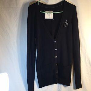 Dark Blue Abercrombie & Fitch Sweater! Size L